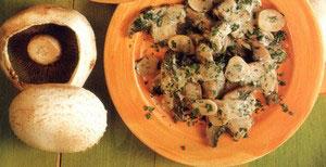 Hvidløgs champignon