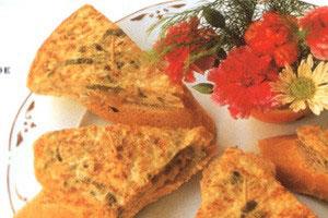 Omelet med klipfisk - Tortilla De Bacalao