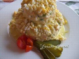 Ensaladilla de mariscos – Skaldyrs salat