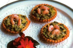 Tarteletter med porre – Tartaleta de Puerros